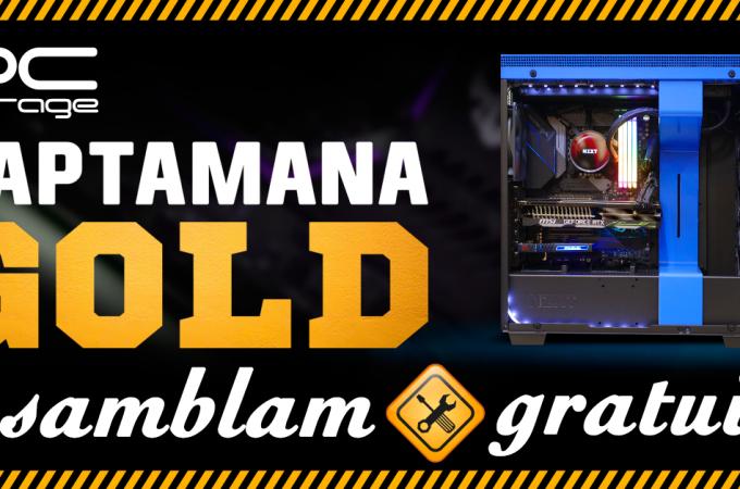 PC Garage anunță o săptămână Gold