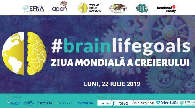 APAN România și EFNA sărbătoresc la București Ziua Mondială a Creierului 22 iulie 2019, București